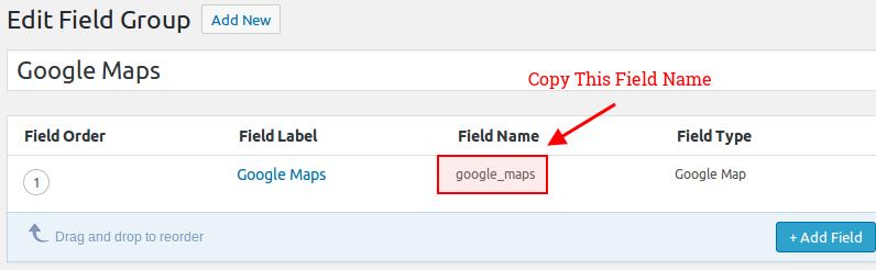 Copy Field Name