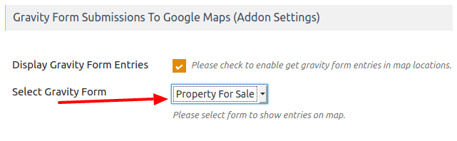 Gravity Form Submissions On Google Maps WP Maps Pro