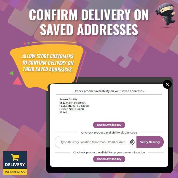 Woocommerce multiple customer address